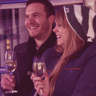 Win a champagne experience for two on The Coca-Cola London Eye
