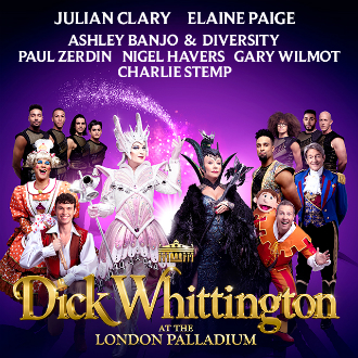Win tickets to Dick Whittington at the London Palladium