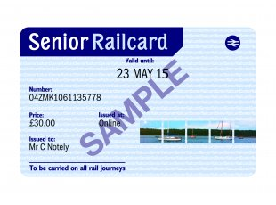 New codes for Family & Friends Railcard